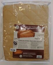 Floppy Ears Faux Suede Sit & Stay Couch  Protector Large Tan Reg $199 NWT