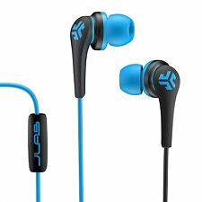 JLab Core Hi-Fi Noise Isolating earbuds with Mic and Cush Fin Technology