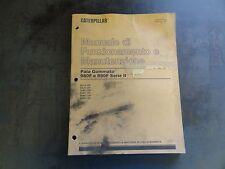 Caterpillar CAT 980F e 980F Serie II Manuale di Funzionamento e Manutenzione
