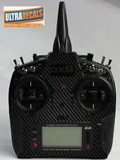 Spektrum DX9 DX8 DX7S Transmitter Controller Carbon Fiber Skin Wrap Decal