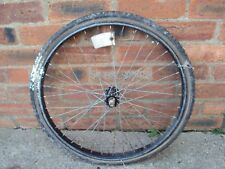 Vintage bike bicycle front wheel 24 inch with a tire