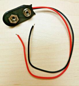 9 Volt Anschluß Batterieanschluß Block Batterie Clip Kabel 9V Blöcke Block