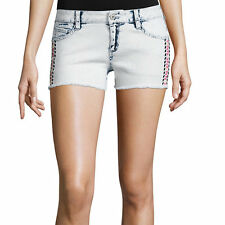 Arizona Multicolor Embroidery Geo Shorts Juniors Size 3, 7, 11, 13 New