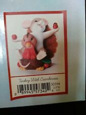"""Charming Tails """"Turkey With Cranberries"""" #30394"""