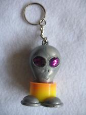 Alien Key Ring with Purple Stone Eyes - NWOT