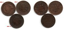(L82A) 1882H 1 Cent_3 COIN VARIETY SET_Error/Variety Coin