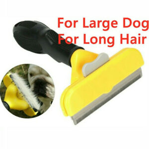 Furminator DeShedding Tool Grooming Cats Dogs Brush Rake Comb Long Short Hair UK