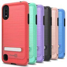 CoverON For Samsung Galaxy A01 (USA Version) Kickstand Case Phone Cover + Screen