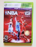 NBA2K13 XBOX 360 Video Game Basketball Produced by Jay Z Free Shipping