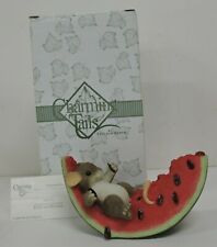 Special Event Limited Edition Charming Tails Watermelon Feast Figurine 98/274