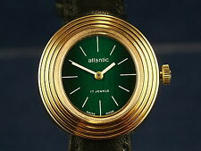 Vintage Retro Atlantic Fashion Ladies Watch NOS Circa 1960s Wind Up Mechanical