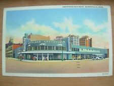 VINTAGE POSTCARD U.S.A.- GREYHOUND BUS DEPOT - MINNEAPOLIS MINNESOTA  Ref 2130