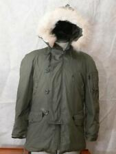 VNTG GREENBRIER N 3B USA MILITARY EXTREME COLD WEATHER PARKA  ATTACHED HOOD SMAL