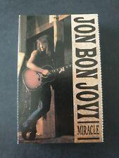 JON BON JOVI - 'Miracle' 1990 Cassette Tape Single