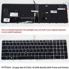 GenuineHPUSSilverBacklitKeyboardPointerCompatible SG-81100-XUA SN9145BL