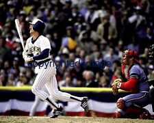 Robin Yount 1974-93  Milwaukee Brewers County Stadium 1982 WS Color 8x10 B