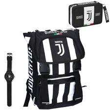 Juventus Scuola 2019/20 Zaino Seven Estensibile con Astuccio e Orologio Lowell