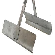 More details for galvanised long handled budget leaf grabbers - for leaves & garden waste