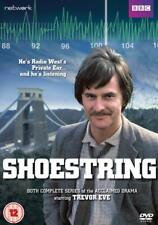 SHOESTRING 1+2 1979-1980 COMPLETE Classic Trevor Eve Season Series R2 DVD not US