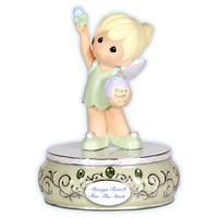 Precious Moments Disney Tinkerbell Porcelain Figurine Musical NIB 104104