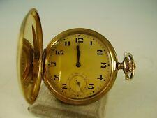 Antike MGBM Sprungdeckel Taschenuhr Vergoldet um 1920