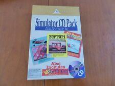 MAC Simulator CD PACK 3 games compilation Macintosh / no amiga atari msx