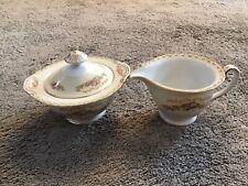 More details for vintage hand painted jyoto made in occupied japan 1939-1945 sugar bowl & jug