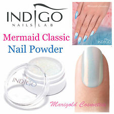 Indigo Mermaid Effect Classic Nail Powder Glitter Dust Efekt Syrenki Gift