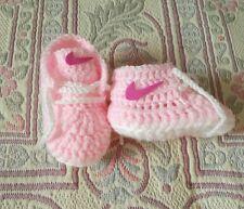 Patucos, bebé, tipo nike, handmade, recien nacido, bota, zapato,