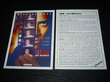 EIGHT MILLIMETER, film card [Nicolas Cage, Joaquin Phoenix, James Gandolfini]