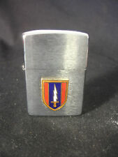 1997 Zippo Cigarette Lighter Military U.S. Army Sword Bradford PA USA