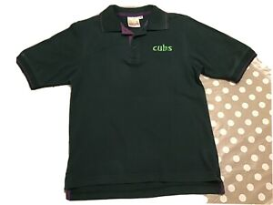 Official CUBS uniform Polo Shirt Green Size 30 inches (9-10 Years)