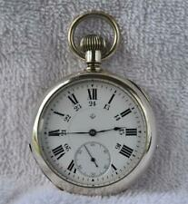 Rare EATON CANADA GALLET 18s POCKET WATCH 21 Jewels Railroad 24h Dial SERVICED