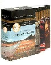 Vintage International Ser.: Oprah's Book Club Summer 2005: a Summer of Faulkner : Three Novels: As I Lay Dying, the Sound and the Fury, Light in August by William Faulkner and William Faulkner (2005, Trade Paperback)