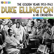5 CD BOX DUKE ELLINGTON THE GOLDEN YEARS 1953 - 1962 IN A SENTIMENTAL A TRAIN