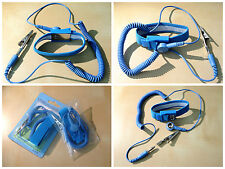 Anti Static ESD Discharge Band Grounding Wrist Strap Blue