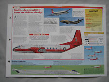 Aircraft of the World Card 141 , Group 4 - Hawker Siddeley Andover