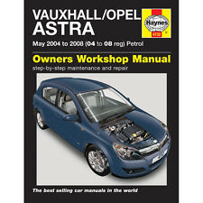 buy vauxhall opel astra haynes car service repair manuals ebay rh ebay co uk opel astra j service manual opel astra h manual service