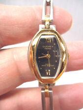 Quemex Galaxy Silver and Gold Tone  Quartz  Watch