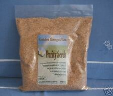 Purity Seeds Whole Golden Omega Flax  Seed, linseed, Omega 3, 2 lb bag-flaxseed