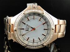 Ladies Womens Techno Com KC 36mm Rose Diamond Watch Joe Rodeo Jojo Aqua Master