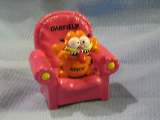 BULLY GARFIELD CAT IN CHAIR FIGURINE
