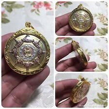Beautiful Jatukam Ramathep 12 Zodiac Pidta Rahu Om Chan Yant Thai Buddha Amulet