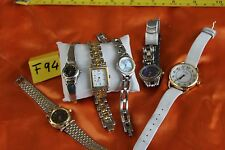 Women's Watch Lot OF 6. A.KLEIN, FOSSIL, OSCAR, AUSTIN AND MORE F94