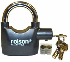 Rolson 66857 Alarm Padlock