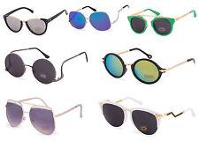 Occhiali da sole da donna metallo e plastici a specchio , Protezione 100 % UV400