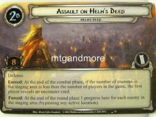Lord of the Rings LCG  - 1x Assault on Helm's Deep #073 - The Treason of Saruman