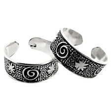 Toe Ring Indian Handmade Jewelry Rs56 Solid 925 Sterling Silver Woman Gift