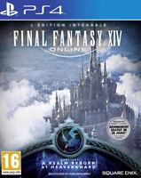 Final Fantasy XIV 14 : édition intégrale - Jeu Playstation 4 / PS4 - Neuf - FR