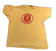 VTG 60S CHAMPION Tag MADE IN USA MENS XL Indian Guides Ymca Vintage Father Son